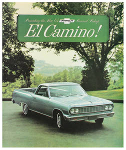 1964 El Camino Color Sales Brochures