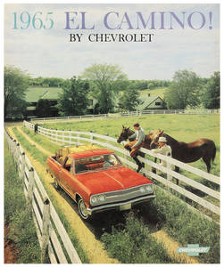 1965 El Camino Color Sales Brochures