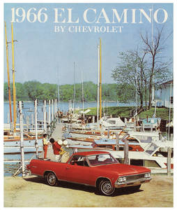1966-1966 El Camino El Camino Color Sales Brochures