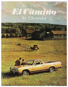 1967 El Camino Color Sales Brochures