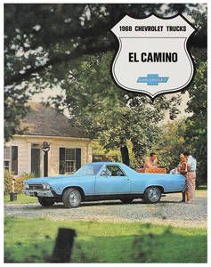 1968-1968 El Camino El Camino Color Sales Brochures