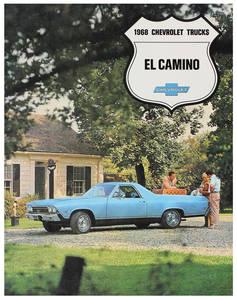 1968-1968 El Camino El Camino Color Sales Brochures