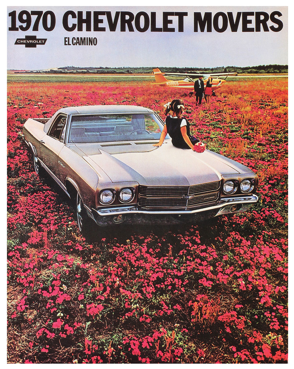 Photo of El Camino Color Sales Brochures