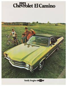1971-1971 El Camino El Camino Color Sales Brochures