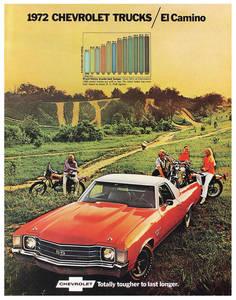 1972-1972 El Camino El Camino Color Sales Brochures