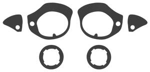 1959 Door Handle Gaskets, Outer Catalina, 4-dr. Sedan/Wagon (Rear)