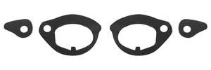 1963-64 Grand Prix Door Handle Gaskets, Outer All Models (Front)