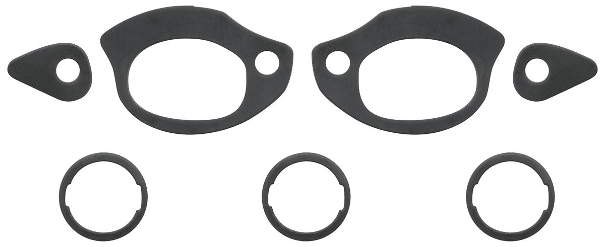 Photo of Gasket Kit (Outside) Door Handle And Trunk Lock Gaskets 7-piece