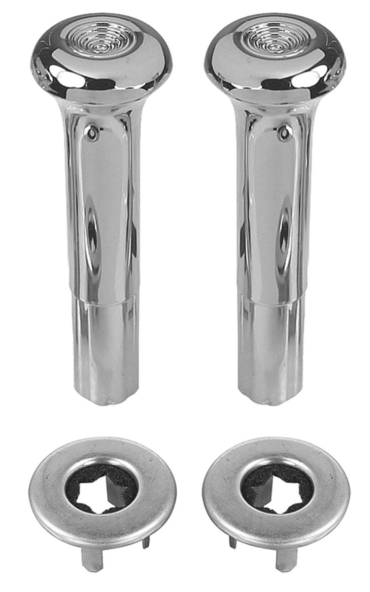 Photo of Door Lock Knobs & Ferrules Chrome smooth