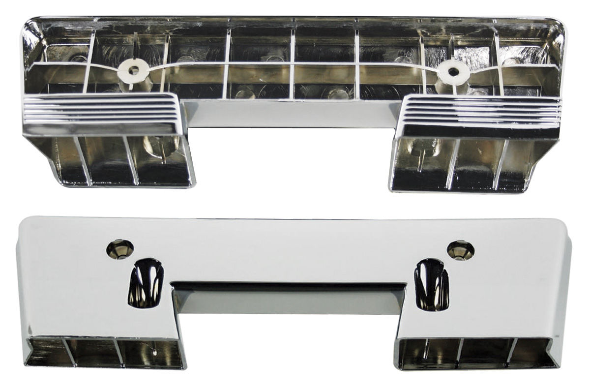 Photo of Armrest Bases, 1964-67 Chrome front