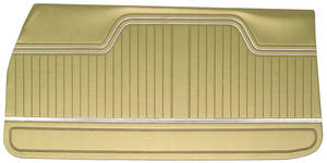 Chevelle Door Panels, 1970-72 Reproduction (2-dr.) 4-dr. Sedan & Wagon, Front