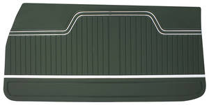 Door Panels, 1970-72 Reproduction (2-dr.) Chevelle or El Camino, Front