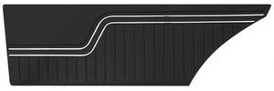 Chevelle Door Panels, 1970-72 Reproduction (2-dr.) Coupe, Rear