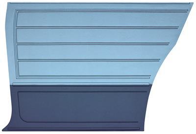 Chevelle Door Panels, 1965 Reproduction (2-dr.) Coupe, Rear
