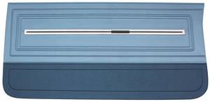 Door Panels, 1966 Reproduction (2-Door) Chevelle or El Camino, Front