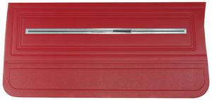 Chevelle Door Panels, 1966 Reproduction (2-Door) 4-dr. Hardtop, Front