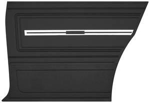 Chevelle Door Panels, 1966 Reproduction (2-Door) Coupe, Rear