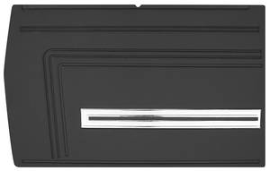 Chevelle Door Panels, 1966 Reproduction (2-Door) Convertible, Rear