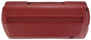 1968-1972 Chevelle Armrest Bases, Plastic Injection-Molded Front Left, by RESTOPARTS
