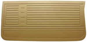 Door Panels, 1967 Reproduction (2-dr.) Chevelle or El Camino, Front, by Distinctive Industries