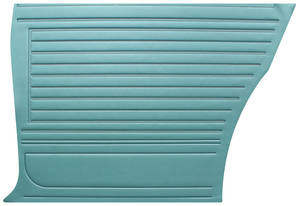 Chevelle Door Panels, 1967 Reproduction (2-dr.) Coupe, Rear, by Distinctive Industries
