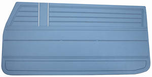 Chevelle Door Panels, 1968 Reproduction (2-dr.) Wagon, Rear