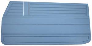 Chevelle Door Panels, 1968 Reproduction (2-dr.) 4-dr. Sedan & Wagon, Front