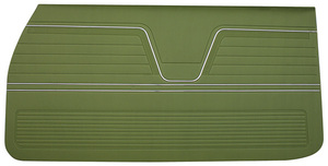 Door Panels, 1969 Reproduction (2-dr.) Chevelle or El Camino, Front, by Distinctive Industries