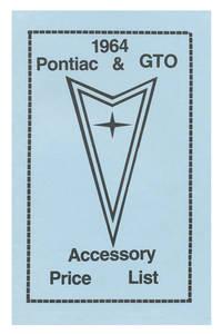 1964 GTO Accessory Price List