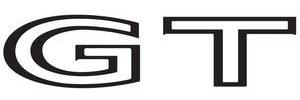 "Deck Lid Decal, 1973-74 LeMans ""GT"" Black"