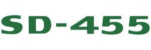 "LeMans Hood Scoop Decal, 1973 ""SD-455"" Dark Green"