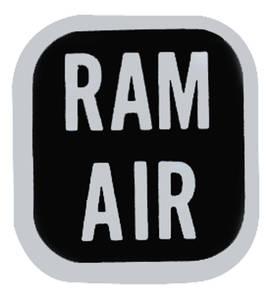 1969-70 GTO Ram Air Knob Decal (#6486684)