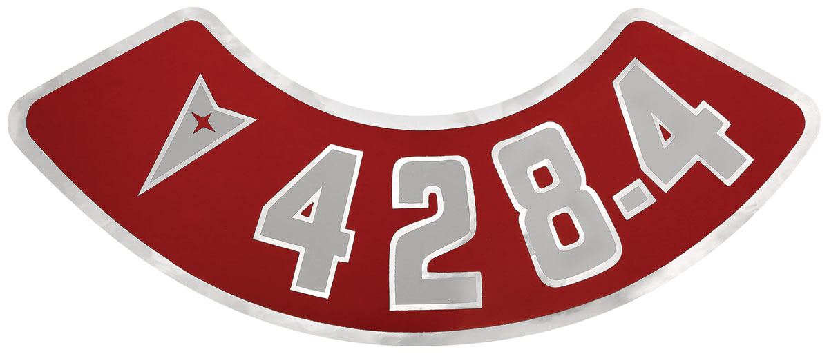 Photo of Air Cleaner Decal 428-4V