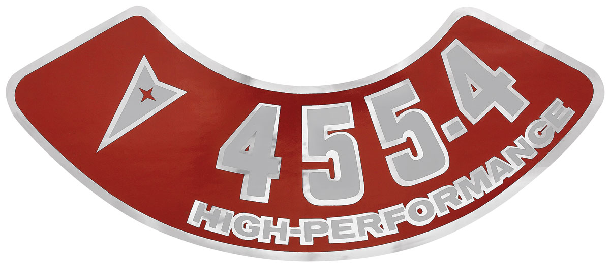 Photo of Air Cleaner Decal 455-4V high-performance