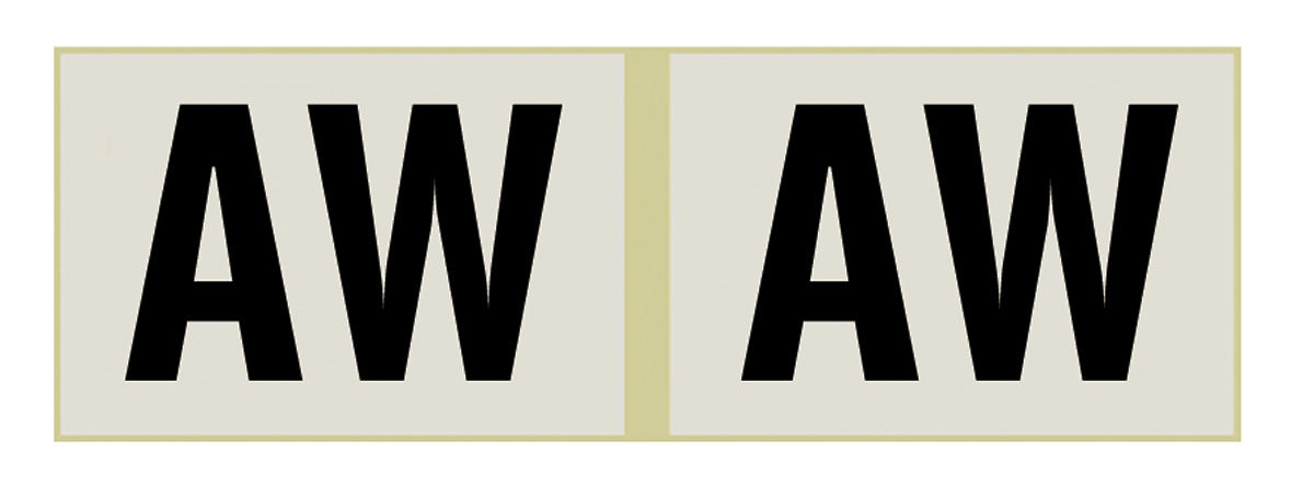 Photo of Shock Absorber Decals rear, (F41)