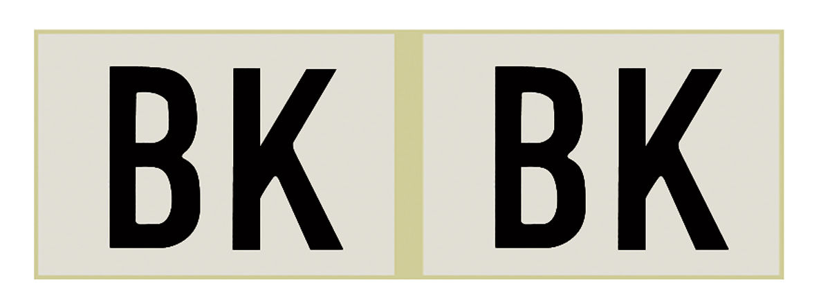 Photo of Shock Absorber Decals front, (F41)