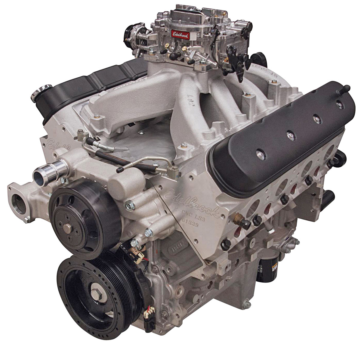 Photo of Crate Engine Victor Jr. LS 416 long block carbureted complete