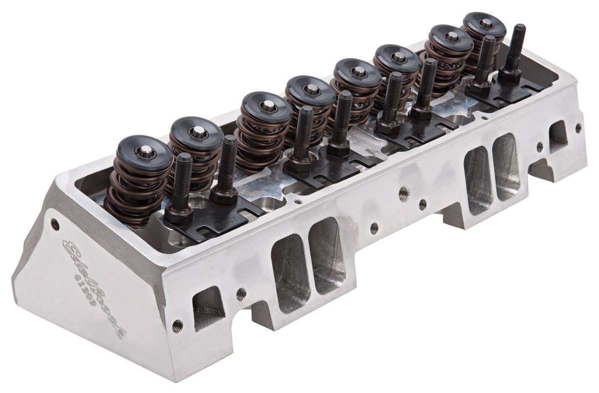 Photo of Cylinder Heads, Small-Block, E-CNC Mechanical Roller complete, 225cc
