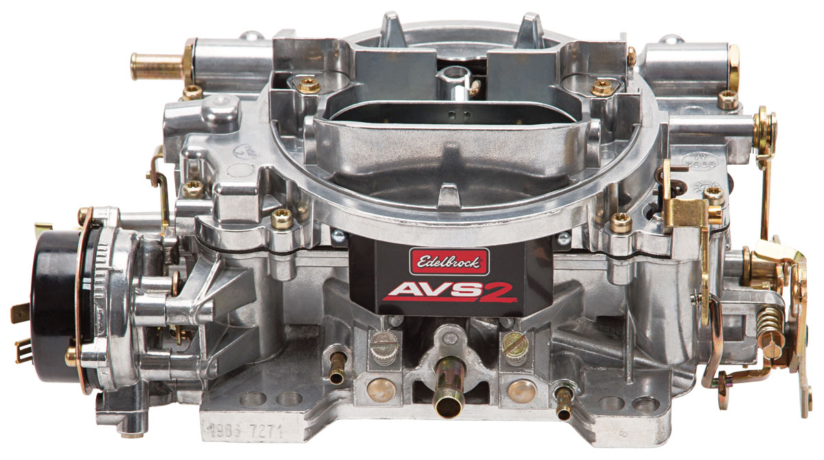 Carburetor, AVS2 Series, Edelbrock 650 Cfm electric choke