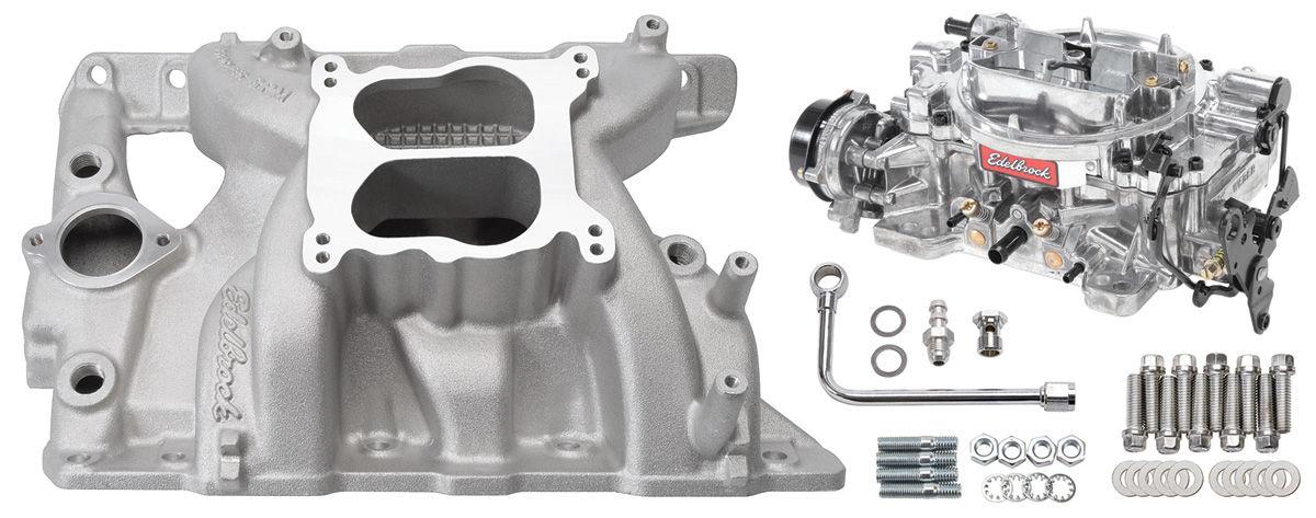 Photo of Manifold & Carburetor Kit; Single Quad