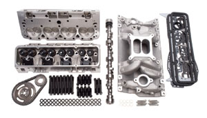 1964-1977 Chevelle Power Package Top-End Kit Small Block – 460 HP, by Edelbrock