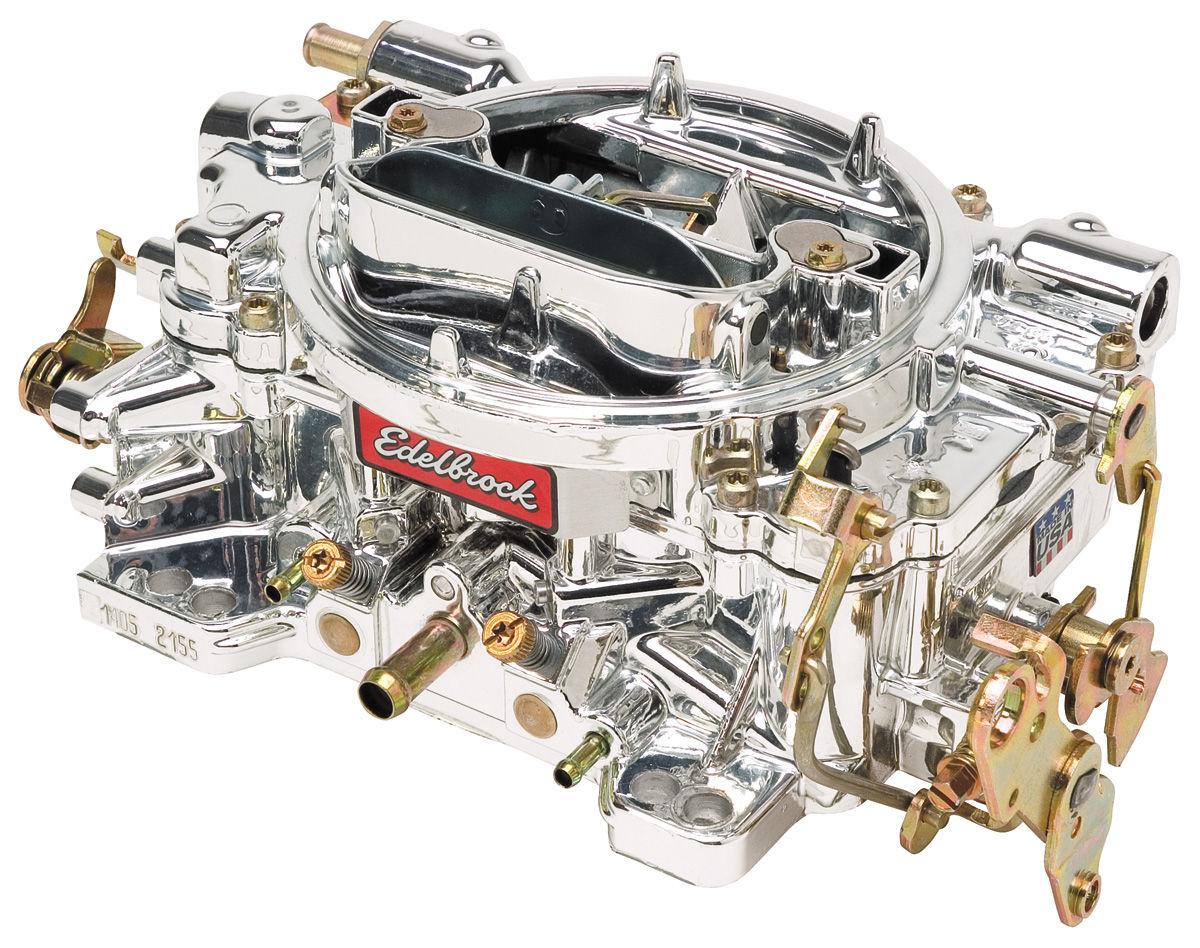 Photo of Carburetor, 600 CFM Manual Choke w/EnduraShine finish