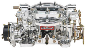 1959-1976 Bonneville Carburetor, 600 CFM Electric Choke w/EnduraShine Finish, by Edelbrock