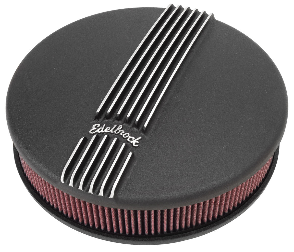 Photo of Air Cleaner Assembly, Classic Series Round, 4-Bbl black