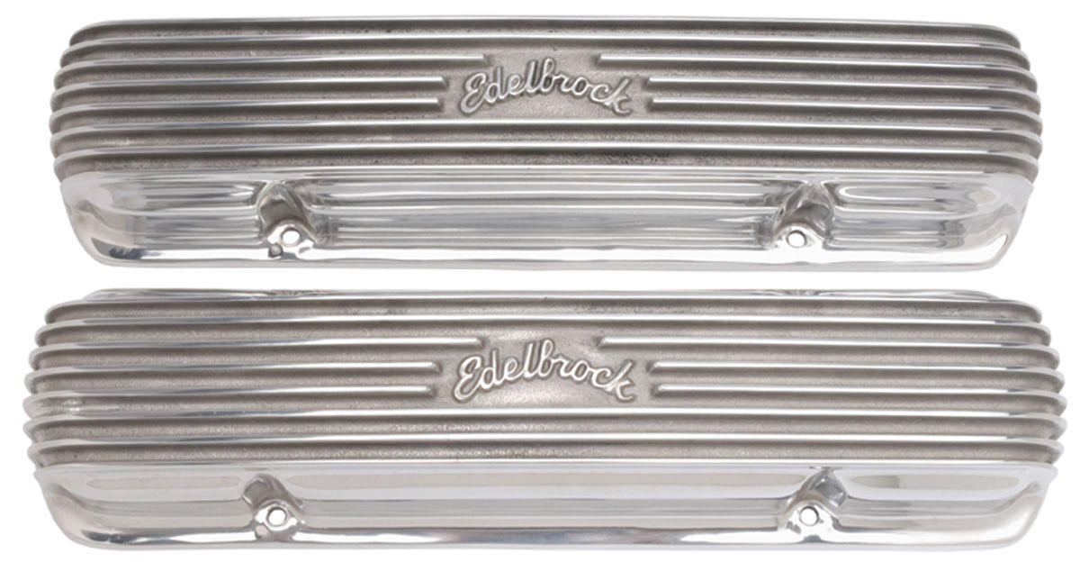Photo of Valve Covers, Finned Aluminum