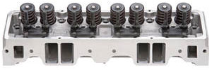 1964-77 Chevelle Cylinder Head, E-Series Aluminum Small-Block, Straight Plug (70cc) (185cc Intake)