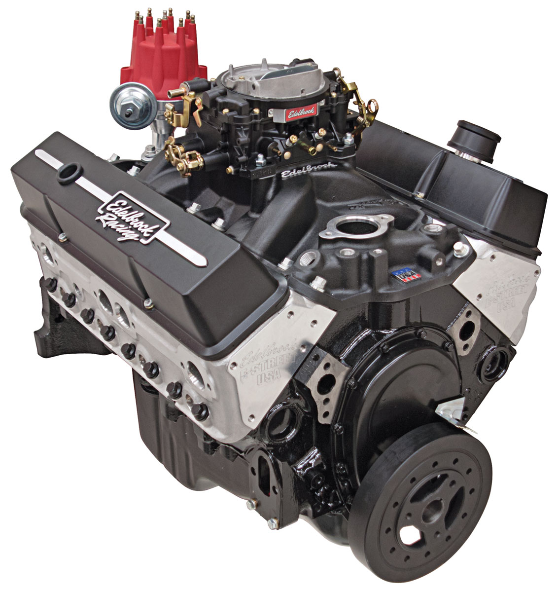 Photo of Crate Engine, Edelbrock E-Street 315 HP, Carbureted black