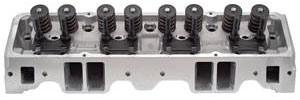 1978-88 Malibu Cylinder Head, E-Series Aluminum Small-Block Straight Plugs (64cc) (185cc Intake)