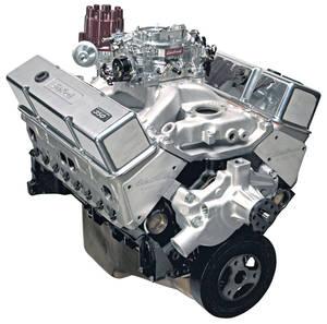 1978-88 Malibu Crate Engine, Performer RPM E-Tec, Edelbrock Short Water Pump Satin