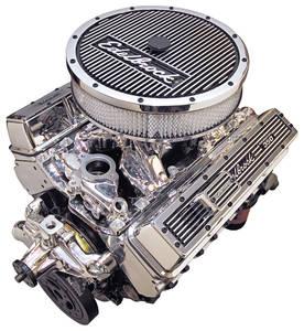 1978-88 El Camino Crate Engine, Performer RPM E-Tec, Edelbrock Short Water Pump EnduraShine